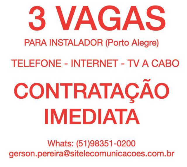 Instalador de TV, Internet e Telefone