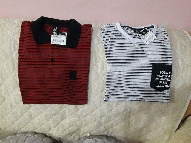 Camisa Polo (M) com Gola - Foto 2