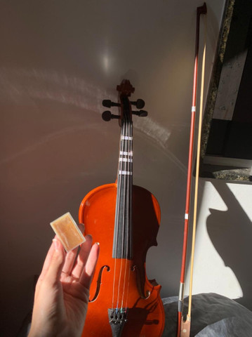 VIOLINO SPRING/ R$300 SEMI-NOVO  - Foto 4