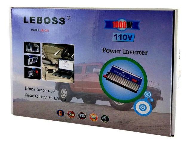Inversor De Corrente Dc 12v Para Ac 110v 127v 1000w Potência - Loja Natan Abreu - Foto 5