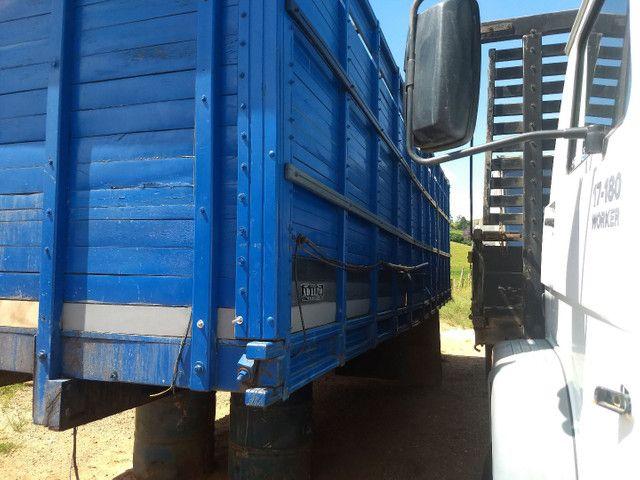 Gaiola boiadeiro para caminhão toco. - Foto 2
