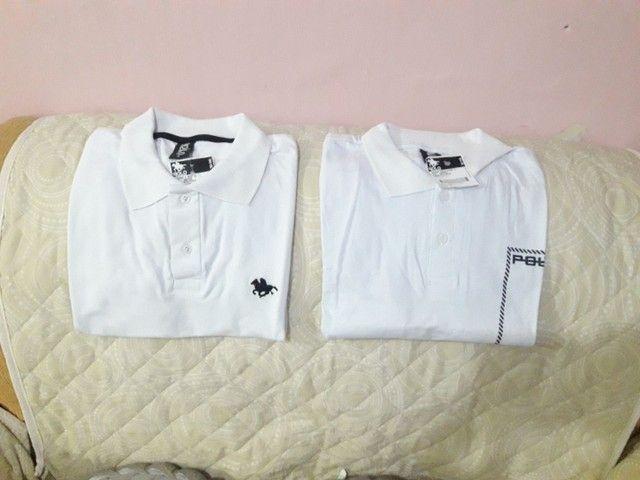 Camisa Polo (M) com Gola
