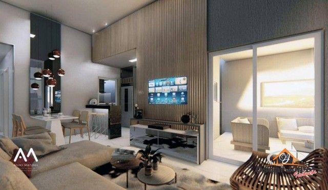 Casa com 3 dormitórios à venda, 110 m² por R$ 315.000,00 - Timbu - Eusébio/CE - Foto 3