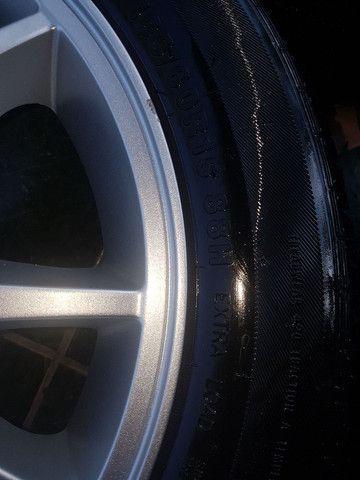 """Rodas 15"""" 4x114 com pneus. - Foto 5"""