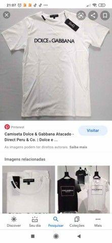 Camisas originais da Dolce & Gabbana - Foto 2