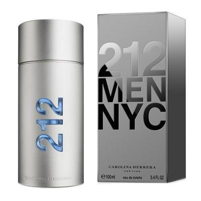 Perfume 212 MEN NYC Carolina Herrera 100 ML Original Importado