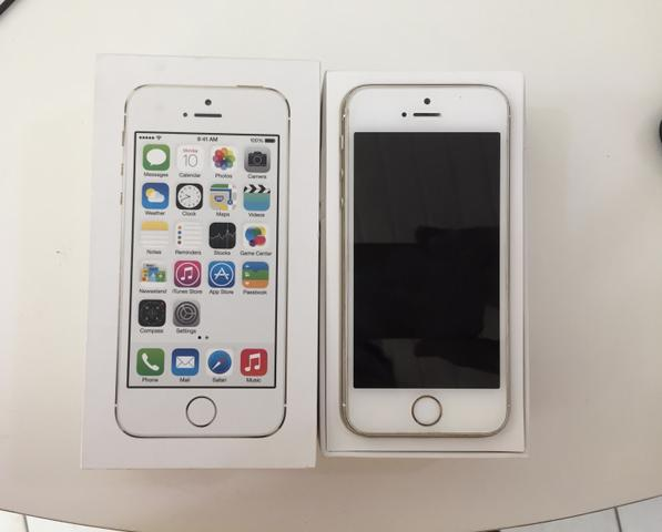 IPhone 5s de 16gb semi novo!