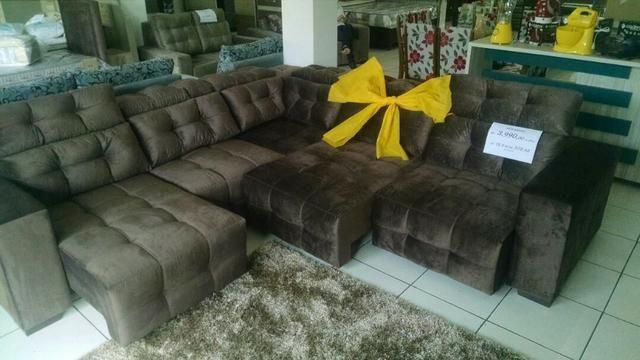 Conjunto sofá canto novo - Foto 3