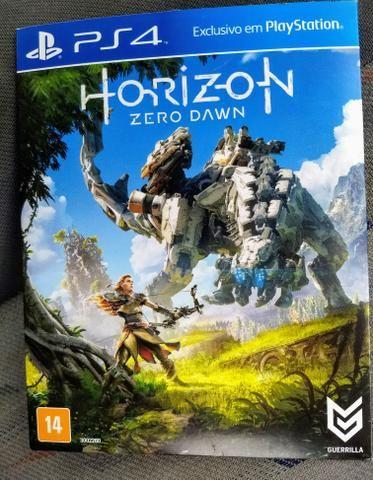 Horizon zero down ps4 dublado português zerado
