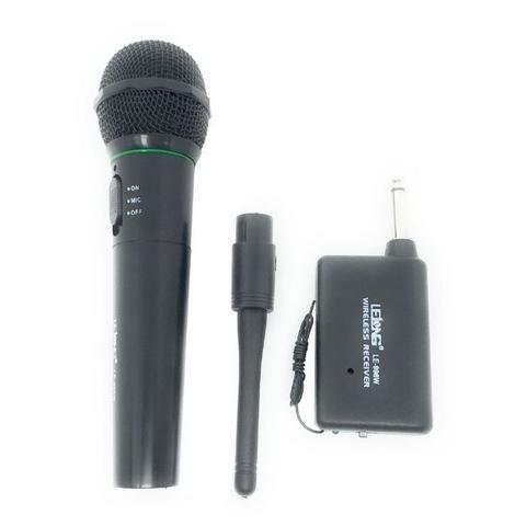 Microfone Sem Fio LE-996W Lelong Completo Profissional Uso Geral - Foto 2