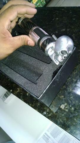 Incrível Vmax 1.200 , toda customizada , linda toda preta fosco ! - Foto 4