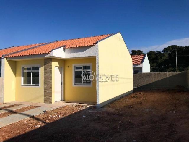 Casa com 2 dormitórios à venda, 42 m² por r$ 130.000 - estados - fazenda rio grande/pr - Foto 9