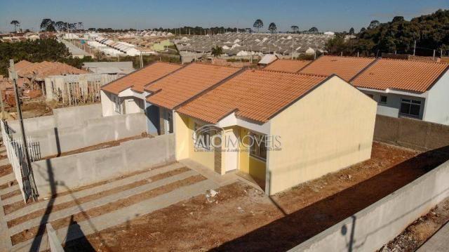 Casa com 2 dormitórios à venda, 42 m² por r$ 130.000 - estados - fazenda rio grande/pr - Foto 19