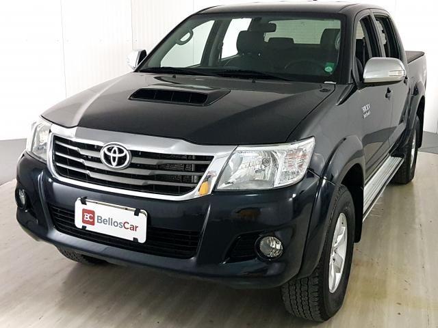 Toyota Hilux CD SRV D4-D 4x4 3.0 TDI Diesel Aut - Preto - 2013