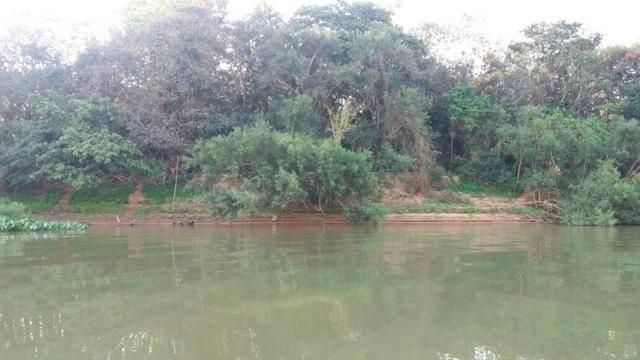 Chácara de 2 hectares em barão de melgaço, nas margem do rio!
