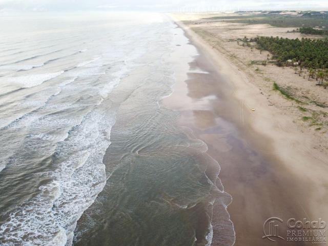 Grande área na barra dos coqueiros, a beira mar - Foto 8