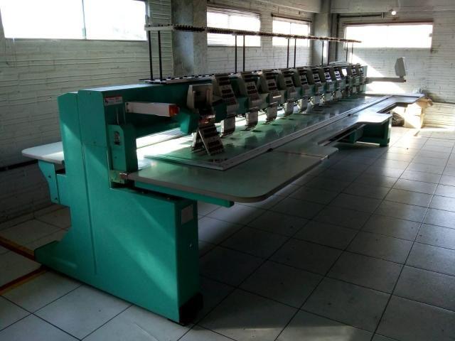 Máquina de bordar Tagima 12 cabeças - Foto 6