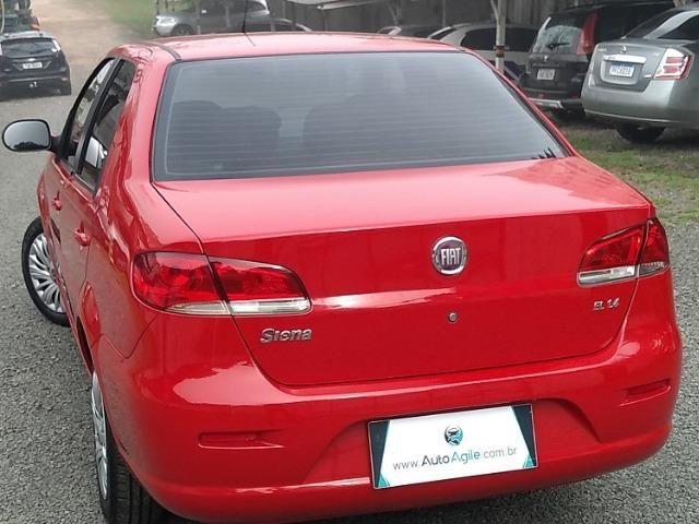 Fiat Siena EL 1.4 Flex 2012 - Completo / Única dona - Foto 6
