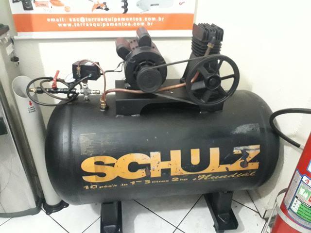 Compressor Schulz 10 pés 175 litros