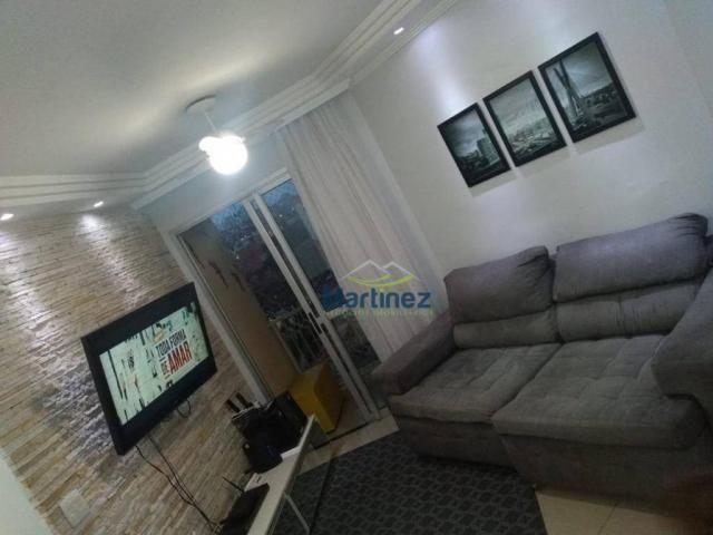 Apartamento com 2 dormitórios à venda, 56 m² por r$ 265.000 - vila alpina - são paulo/sp