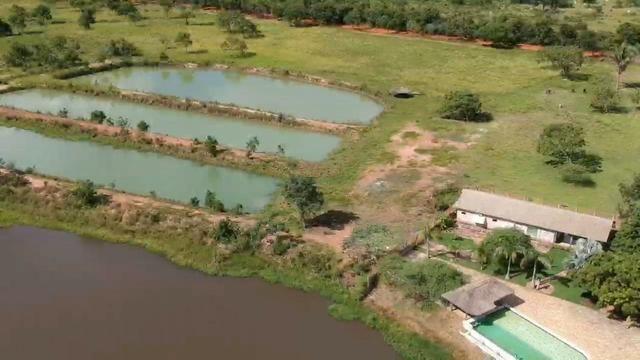 Fazenda em Livramento há 44 km Cuiabá com piscina, muito pasto, represas e lago - Foto 5