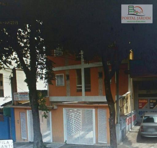 Apartamento com 2 dormitórios para alugar, 50 m² por r$ 1.300/mês - vila alto de santo and