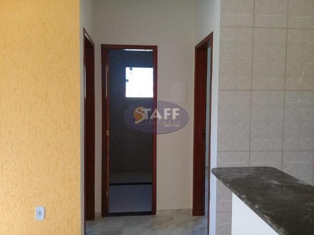 OLV-Casa com 2 dormitórios à venda, 55 m² por R$ 85.000 - Unamar - Cabo Frio/RJ CA0956 - Foto 10