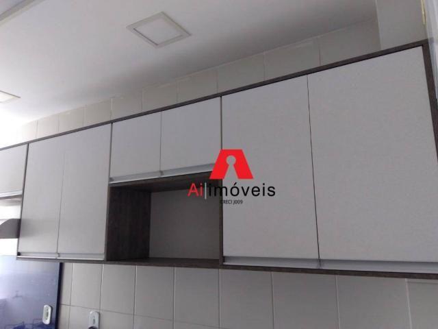 Apartamento com 2 dormitórios e 1 suíte com closet, para alugar, 110 m² por r$ 2.600/mês - - Foto 6