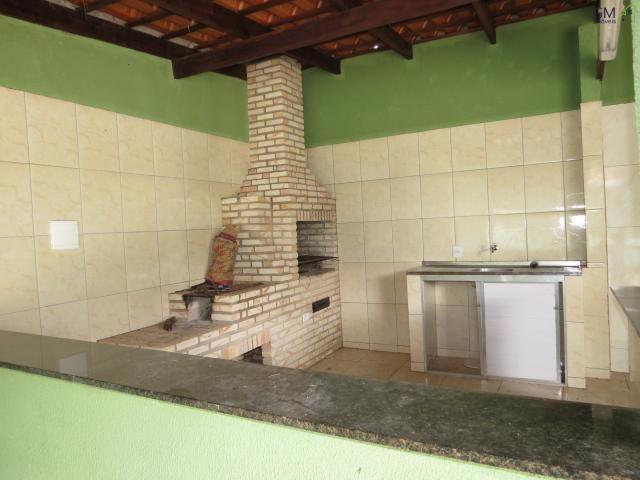 Casa a venda no condomínio morada da serra / 03 quartos / setor de mansões / churrasqueira - Foto 4