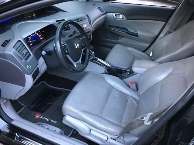 Civic LXL 1.8 Automático Flex Completão 2013 - Só precisa ter nome limpo - Foto 13