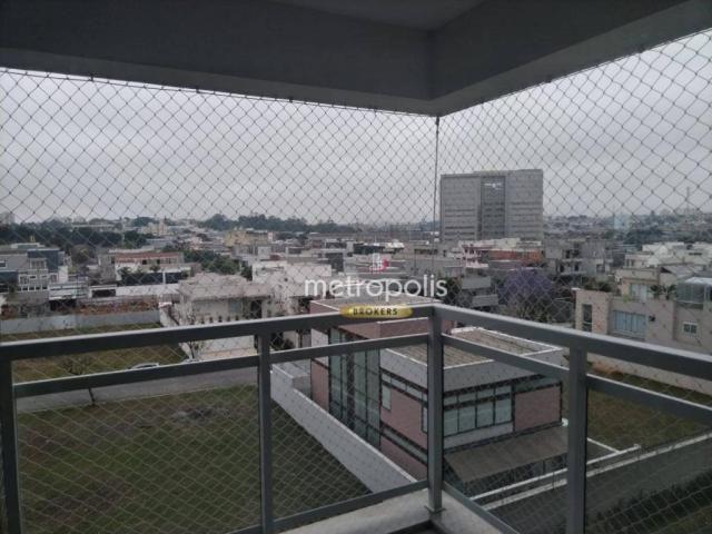Apartamento com 2 dormitórios para alugar, 69 m² por r$ 2.500/mês - cerâmica - são caetano - Foto 12