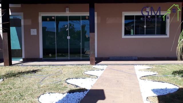 Casa a venda / condomínio jardim europa ii / 03 quartos / churrasqueira / garagem / aceita - Foto 3