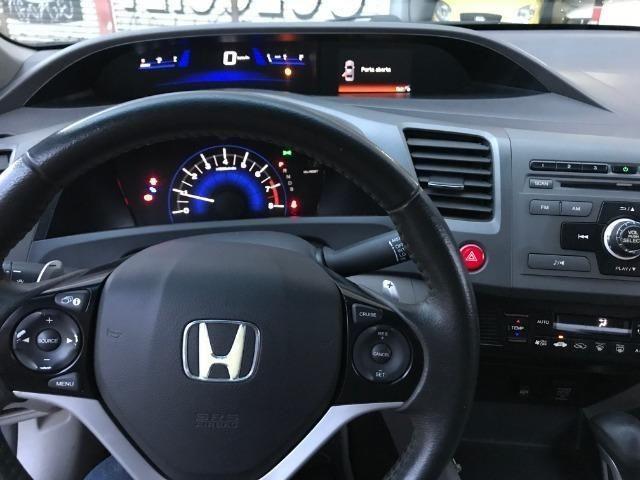 Civic LXL 1.8 Automático Flex Completão 2013 - Só precisa ter nome limpo - Foto 10