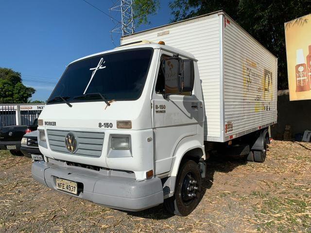 Caminhão 8-150 ano 2004 com baú Frigorífico - Foto 6