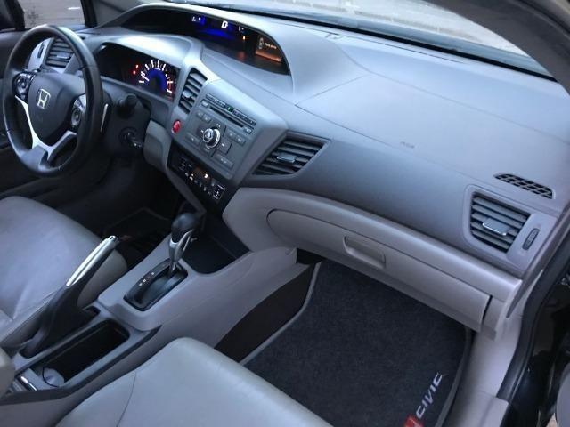 Civic LXL 1.8 Automático Flex Completão 2013 - Só precisa ter nome limpo - Foto 16
