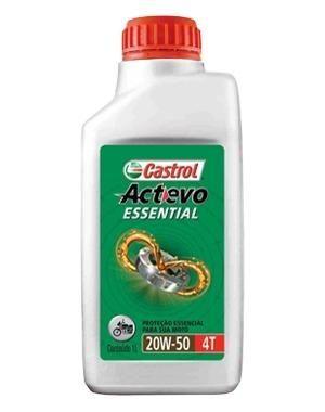 Oleo Motocicleta Mineral 20w50 Actevo Essential 4t 1lt Castrol