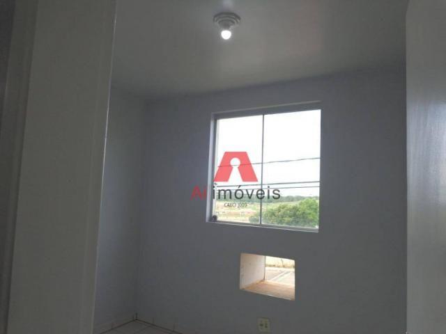 Apartamento com 2 dormitórios para alugar no via parque, 49 m² por r$ 937/mês - floresta s - Foto 14