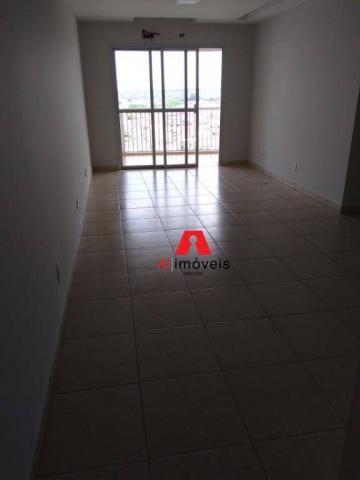 Apartamento com 2 dormitórios e 1 suíte com closet, para alugar, 110 m² por r$ 2.600/mês - - Foto 3