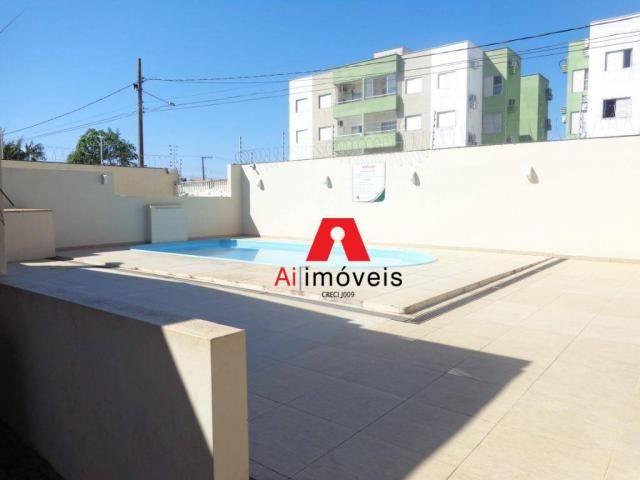 Apartamento com 2 dormitórios à venda ou locação, 71 m² por r$ 280.000 - portal da amazôni