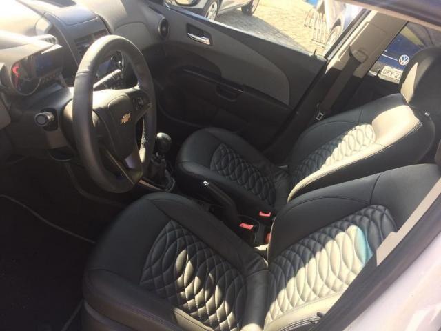 Chevrolet sonic 1.6 ltz 16v flex manual 2012/2012 branco - Foto 9