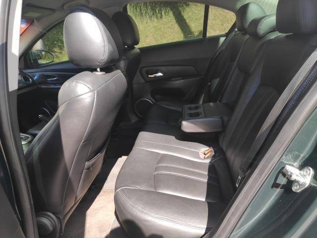 E# Chevrolet Cruze sedan LT 1.8 - completo - couro - conservado - automatico - Foto 7