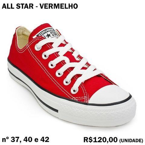 f6766db2461 All Star Vermelho - Roupas e calçados - Estados