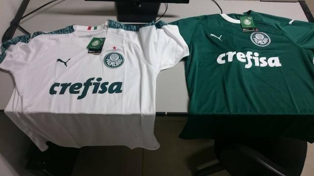 f854e213bc4d6 Camisa Palmeiras 19 20 Puma Pronta entrega e Entrega Gratis Goiânia ...