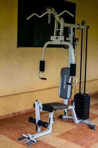 Estação de musculação Oxer 4300s semi nova - Foto 2