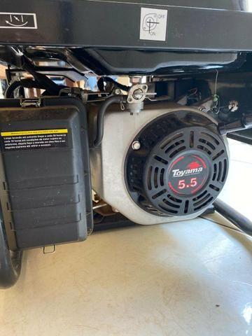 Gerador De Energia À Gasolina 2,2 Kva Tg2500mx Toyama - Foto 4