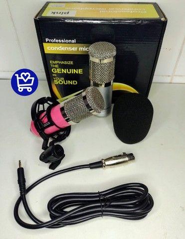 *Microfone Condensador Profissional * - Foto 4