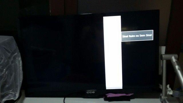 Tv led cce 39 polegadas c/defeito  - Foto 2