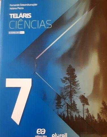 Coleção Livros TELÁRIS e Livro de Português - Atual Editora, 7° Ano - Foto 4