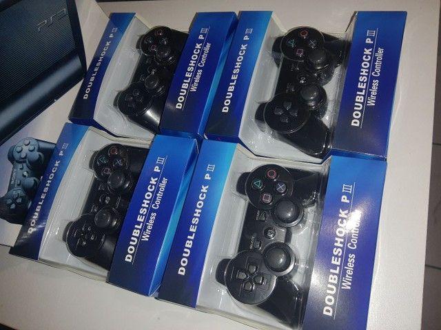 Controles PS3 novos na Caixa  - Foto 3
