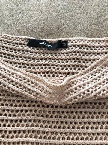 Blusa tecido furado  - Foto 2